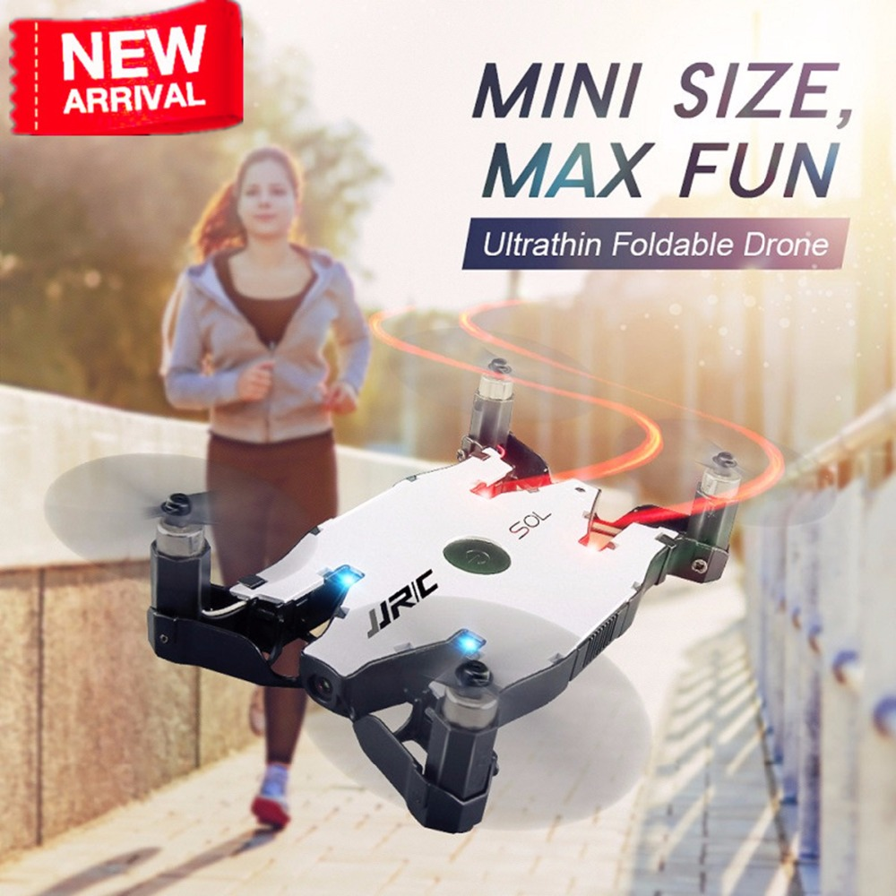 Mini Folding Automatic Air Pressure JJRC H49 H49WH SOL 4ch 720P RC Drone with Camera Profesional FPV Quadcopter RC Helicopters up air upair chase 5 8g fpv 12mp rc quadcopter