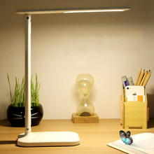 JSEX LED Table Lamp Desk Lamps Night Light Study Stand Lights USB Port and Touch Eye-caring For Office Bedroom Kids Family