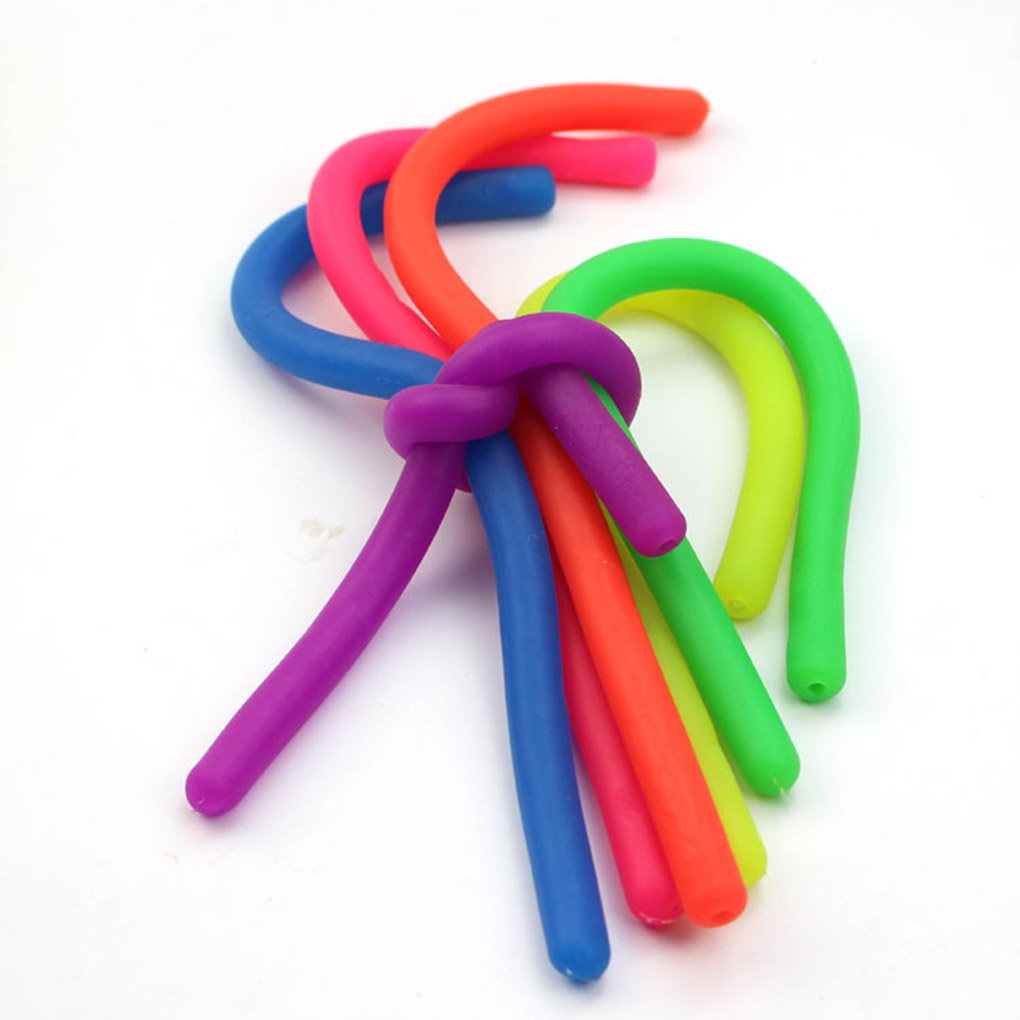 Hand Stretchy Antistress Jokes Noodles Rope Toy Anti Stress Toys String Squeeze Fun Toy Funny Gift String Kid Gift Toys