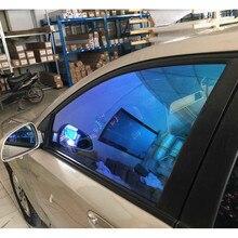 """55% VLT Хамелеон нано керамическая пленка автомобиля боковое заднее окно Солнечный Оттенок 6"""" X 20"""""""