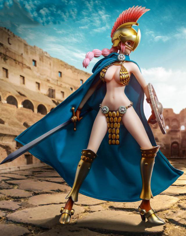 WIBEN 1/6 authorized TS04 Sword Fighter Rebecca movable doll 12'' Action Figure Painting model gift toys