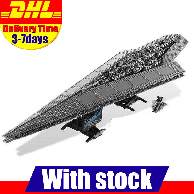 Lepin 05028 Building Blocks toy UCS Execytor Imperial Destroyer Model Block Brick Compatible 10221 05028 star wars execytor super star destroyer model building kit mini block brick toy gift compatible 75055 tos lepin