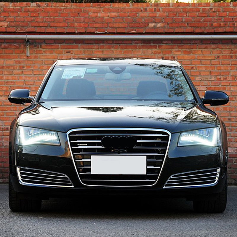 Us 168 68 A8 Black Front Fog Grill Grille For Audi A8 2011 2014 Car Styling In Body Kits From Automobiles Motorcycles On Aliexpress Com Alibaba