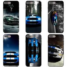 Shelby Cobra Mustang Car Soft Art Print Cover Case For Huawei Honor Mate 6A 7A 7X 8A 8C 8X 9 10 20 P8 P10 P20 P30 Lite Pro 2017(China)