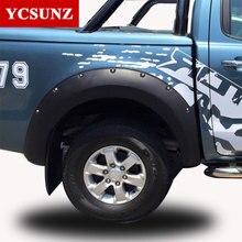 2012-2014 Kotflügelverbreiterung Für Ford Ranger T6 Zubehör Schwarz Farbe Kotflügel Für Ford Ranger 2012 2013 2014 Auto Flares Ycsunz