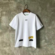 2017ss Neue Kollektion Off-White C/O X Spiegel frauen männer t-shirt sommer mix stil kurzarm t-shirts OFF White Virgil Abloh