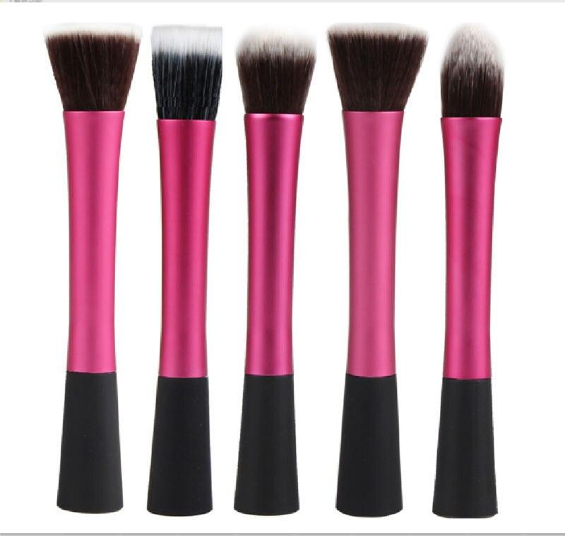 5 PCS Pink Hot High Quality Professional Makeup Brush Set Makeup Brushes Kit For Face Care Free Ship new 7pcs professional makeup brushes set excellent makeup brush kit eyeliner brush for eyeshadow face care