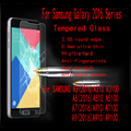 5pcs/lot Tempered Glass Protector For Samsung A310 A3 2016 A510 A5 2016 A710 A7 2016  A910 A9 2016 A9 PRO With Free Shipping