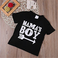Cool nuevos Niños de mamá boy Tops Impresos Muchachos Niños Camiseta de Algodón de Manga Corta de Verano Tee 3-10Y