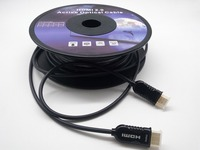 AOC HDMI Active гибридный кабель HDR 4K @ 60 Гц EDID/HDCP2.2 18 Гбит/с 20 м 25 м 30 м 40 м 50 м 60 м 70 м 80 м 90 м 100 м 300 м 1080 P 3D кабель HDMI