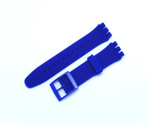 Image 4 - Rubber Silicone Wrist Watch Band Strap for Swatch 16mm 17mm 19mm 20mm Watchband Accessories