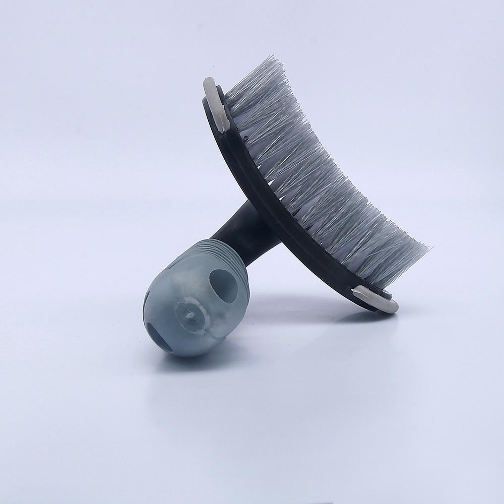 T-Type Tire Brush Wheel Hub Tire Handle Washing Brush Car Washing Car Cleaning tool Wheel Hub Brush cleaner