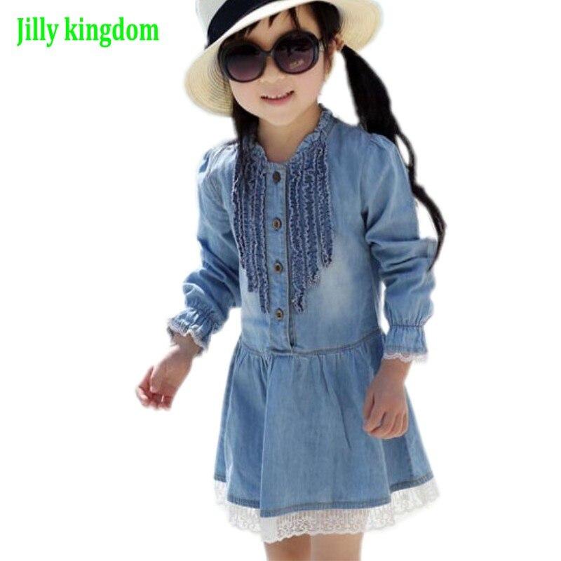 Baru Musim Semi & Musim Gugur kualitas Tinggi Gadis Anak-anak - Pakaian anak anak