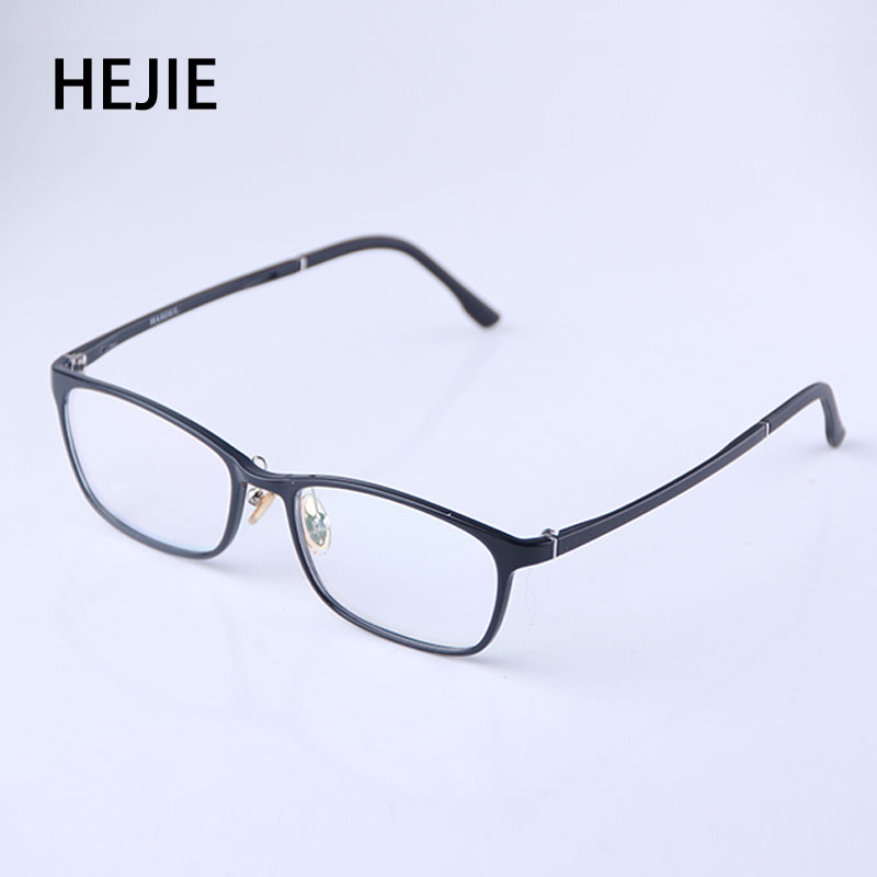 HEJIE Unisex High Quality ULTEM Frame Free Form Inner Multifocal Progressive Reading Glasses Far Middle Near