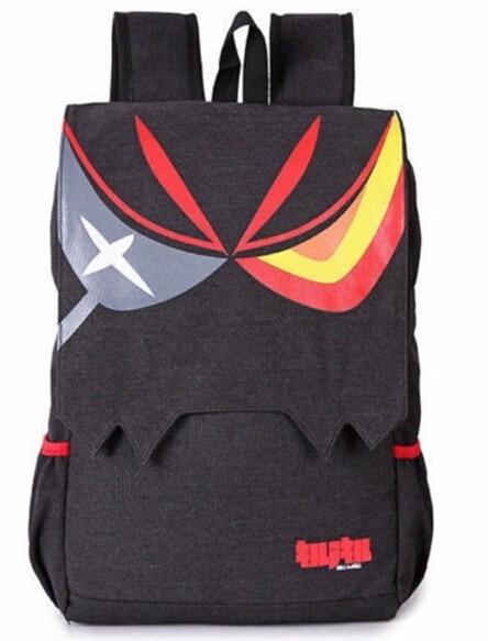 Anime Kill La Kill Matoi Ryuko Unisex Canvas Backpack School Travel Shoulder Bag цена 2016