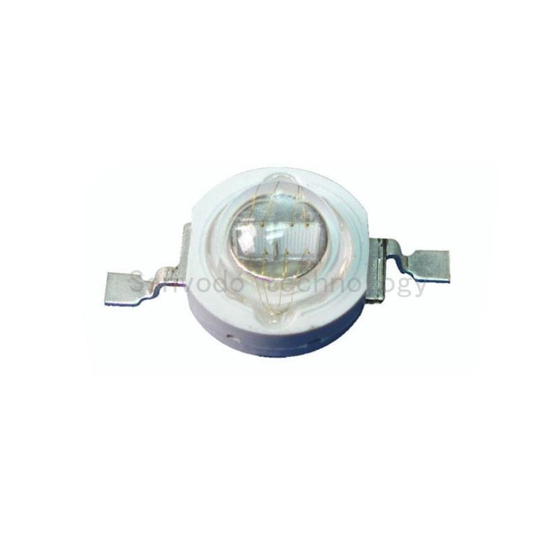 100X высокое качество 5 Вт 440-445nm высокая мощность светодиодный светильник с epileds 45mil двойной чип