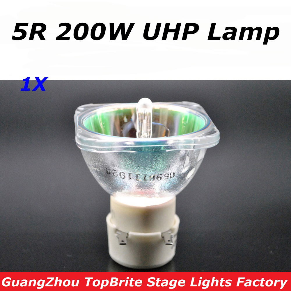 High Quality 1Pcs/Lot 200W Lamp MSD Platinum 5R UHP Bulb For Beam 200W Sharpy Moving Head Beam Light Bulb DJ Disco Stage Lights