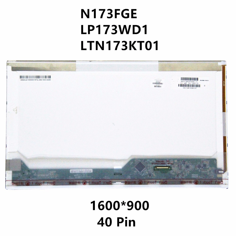 N173FGE LP173WD1 LTN173KT01 For Acer Aspire V3-771 V3-771G V3-731-4446 V3-731-4634 VA70 7551G Laptop LCD Screen Display Matrix a065vl01 v3 lcd screen