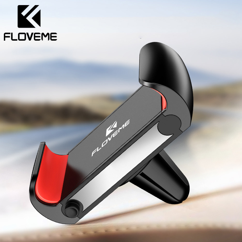 FLOVEME Car Phone Holder For IPhone Xiaomi Air Vent Mount Car Holder For Phone In Car Mobile Phone Holder Stand For Samsung S10e