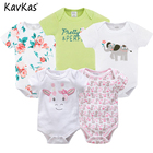 Twins Baby Bodysuit Clothes Girl Boy 5 PCS Baby Clothing Extenders Jumpsuit Newborn 0 3 6 9 Months Cotton Costume Baby Bodysuit