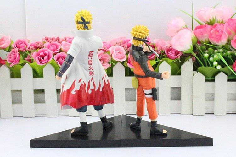 Minato Figure And Naruto Back