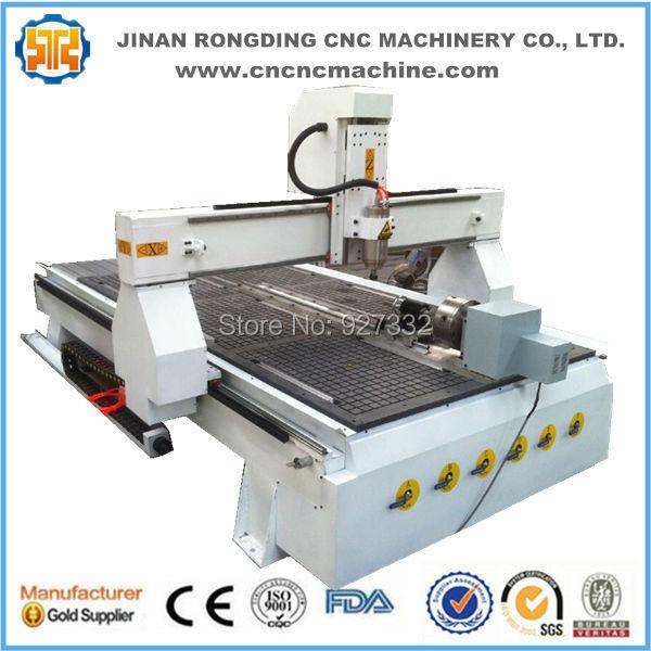 Snadné ovládání Čína cnc stroj, dřevo cnc cena stroje, cnc - Zařízení na obrábění dřeva - Fotografie 2
