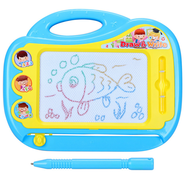 New Magnetic Drawing Board Kids Sketching Writing Painting Craft Fun ...