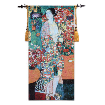 "Belgium tapestries khalim's ""dancers"" art wall carpet 70 *145 CM"