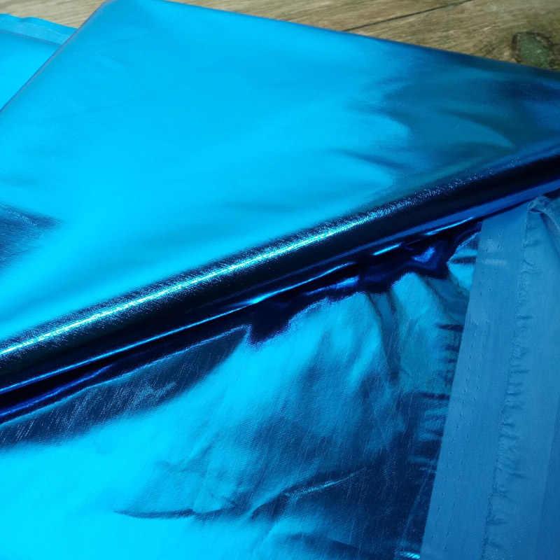 1Yard * 1,5 м полиэфирной ткани стрейч Блестящий Золотой Фольга бронзового цвета Материал Глянцевая кожаная ткань для плетения браслетов, костюм для сцены, косплея, платье