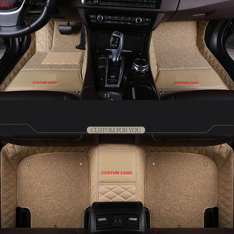 Car Believe Car Floor Mats For Volvo V50 V40 C30 Xc90 Xc60 S80 S60 S40 V70 V60 Xc40 Accessories Carpet Rug
