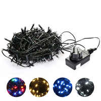 10M 20M 30M 100M Waterproof LED Fairy String Lights Garland Christmas Party Wedding Xmas Holiday Lights Outdoor Home Decoration