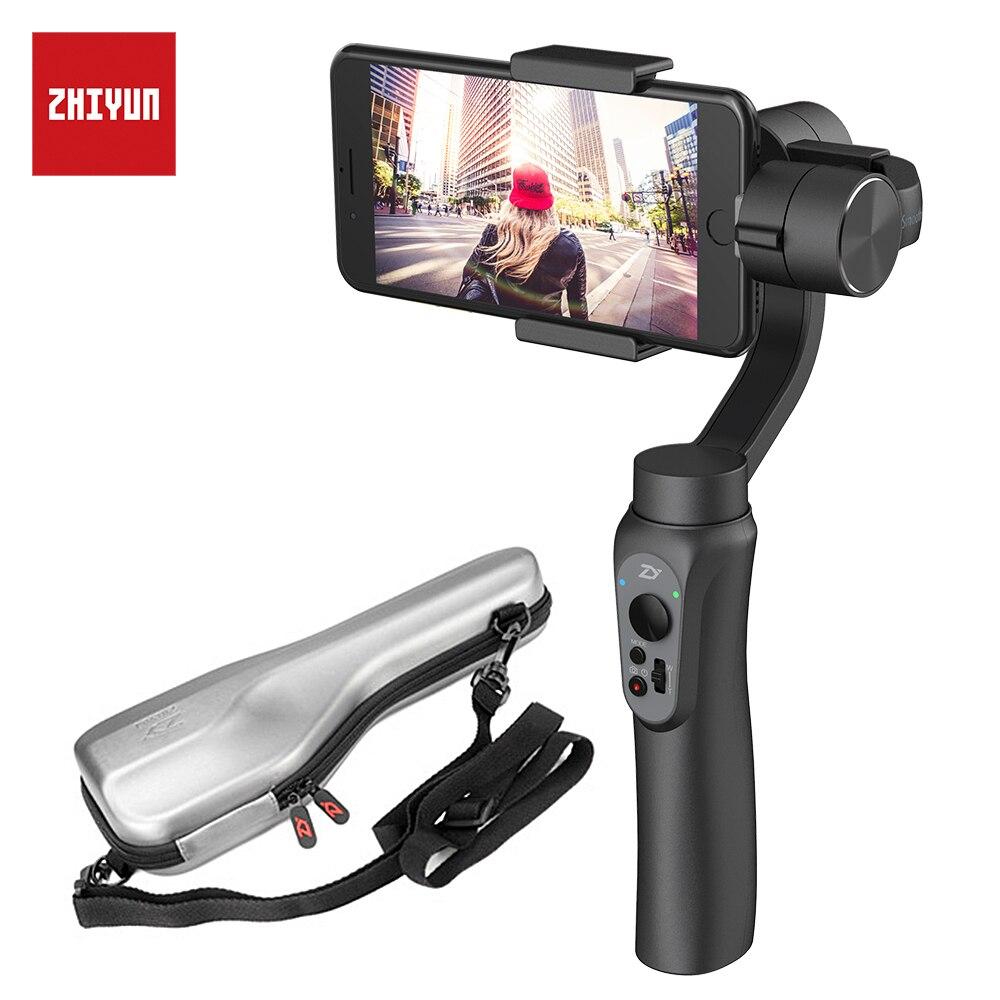 Zhi yun Zhiyun Glatt Q 3-achsen Handheld Gimbal Stabilizer für iphone Sumsung Gopro