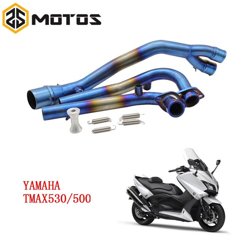 Выхлопная система полностью ЗС мототехники для YAMAHA T-Макс 500 Тмах 530 T-Макс 500 530 2001-2016 без выхлопа
