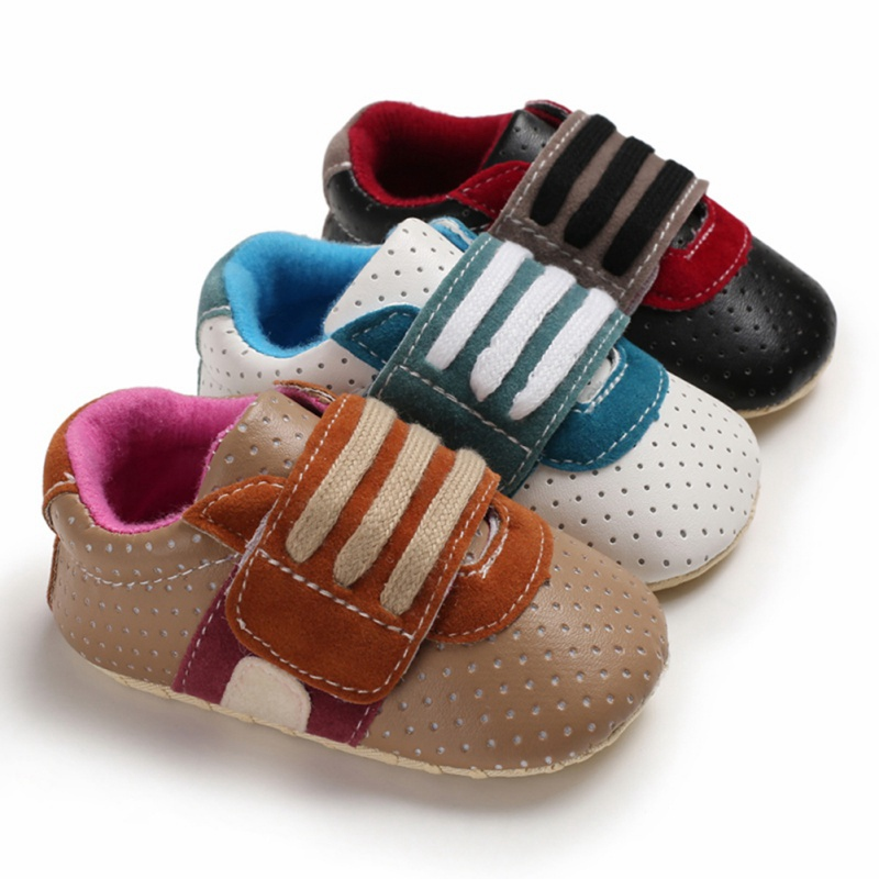 Soft Sole Leather Baby Shoe Infant Kid Children Toddler Boy Girl Gift Frog 6-12M