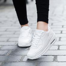 Hot 2017 nowy Trend buty do biegania męskie trampki oddychające buty z siatki powietrza Eva Athletic Sapatos kobiety buty sportowe do biegania buty męskie tanie tanio Dorosłych Mężczyźni Gumy Skóra Oddychająca Masaż Średnie (b m) Sznurowane Fall2017 Stabilność Maraton ( 40 km)