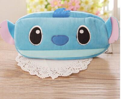 Kawaii Cartoon Lilo Stitch 20CM Plush Kids School Pen Pencil BAG Case Pouch ; Cosmetics Purse & Wallet Coin - Giselle Gift(Store store)