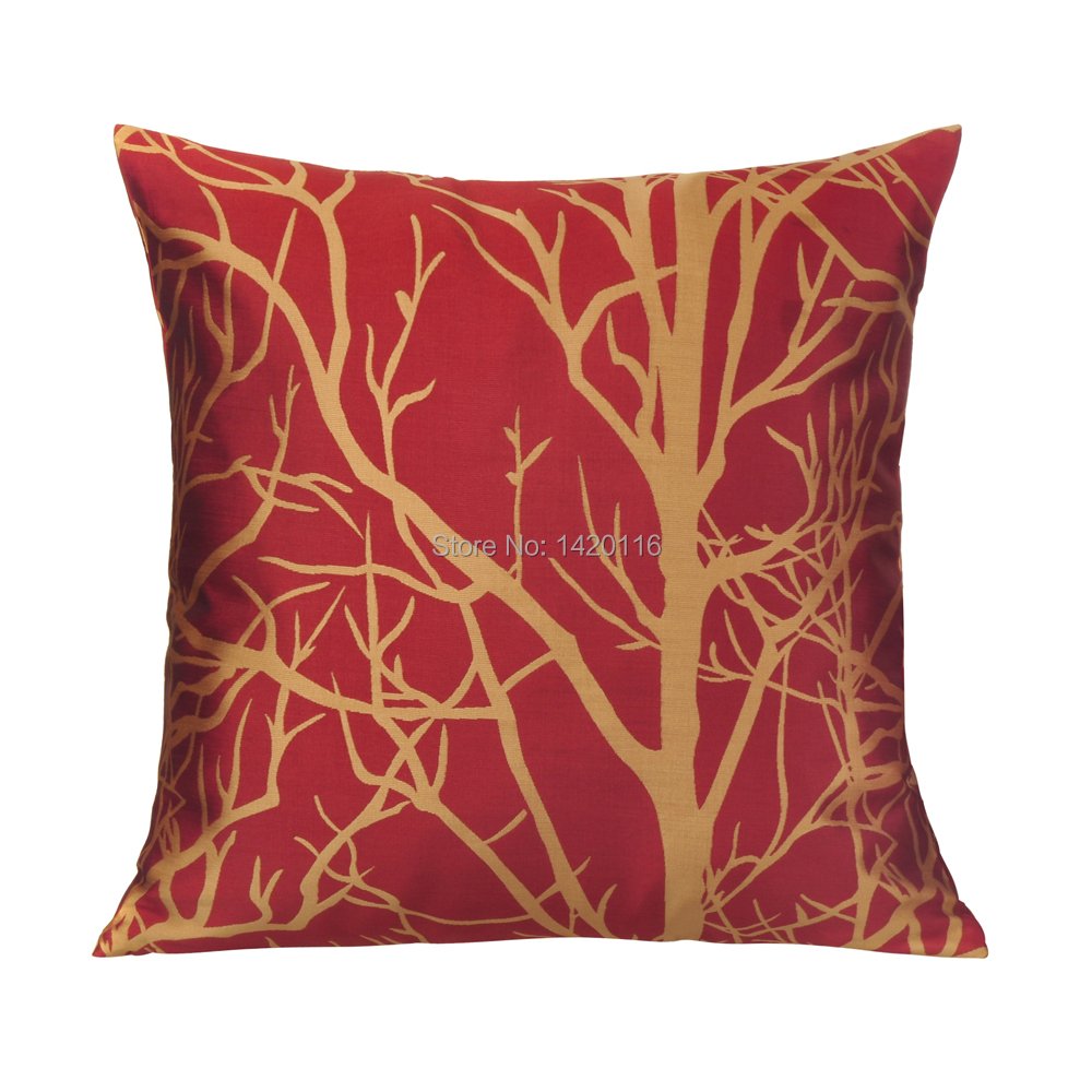 online buy wholesale silk throw pillows from china silk throw  - red doublesided limitated silk fabric throw pillow case cushion covershome sofa decorative free