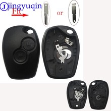 jingyuqin 2/3 B Key Case For Renault Megane Modus Espace Laguna Duster Logan DACIA Sandero Fluence Clio Kango For NISSAN ALMERA(China)