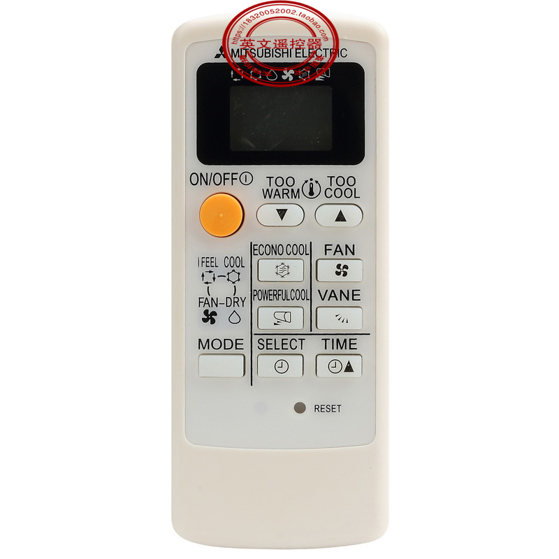 NEW General Air Conditioner remote control suitable for Mitsubishi MP04B MP04A MP2B Air Conditioner 10PCS universal 1 5 lcd air conditioner a c remote control controller white 2 x aaa