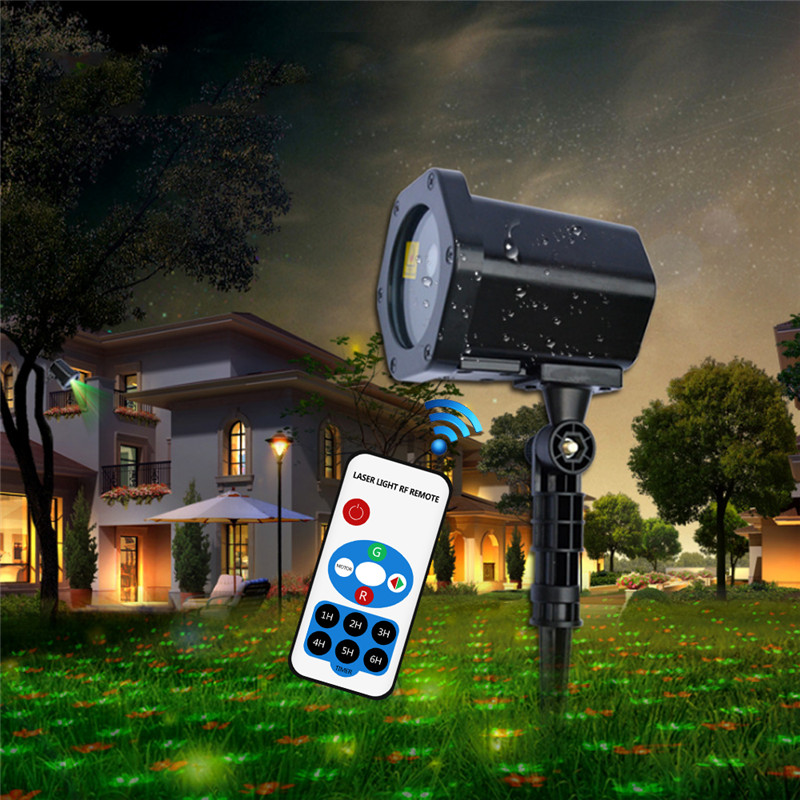 Christmas Laser Projector Outdoor Moving LED Garden Lawn Light Remote Control IP65 Waterproof Landscape Park Decor Laser Lamps transgems 18k rose gold 1 carat lab grown moissanite diamond solitaire pendant necklace solid necklace for women