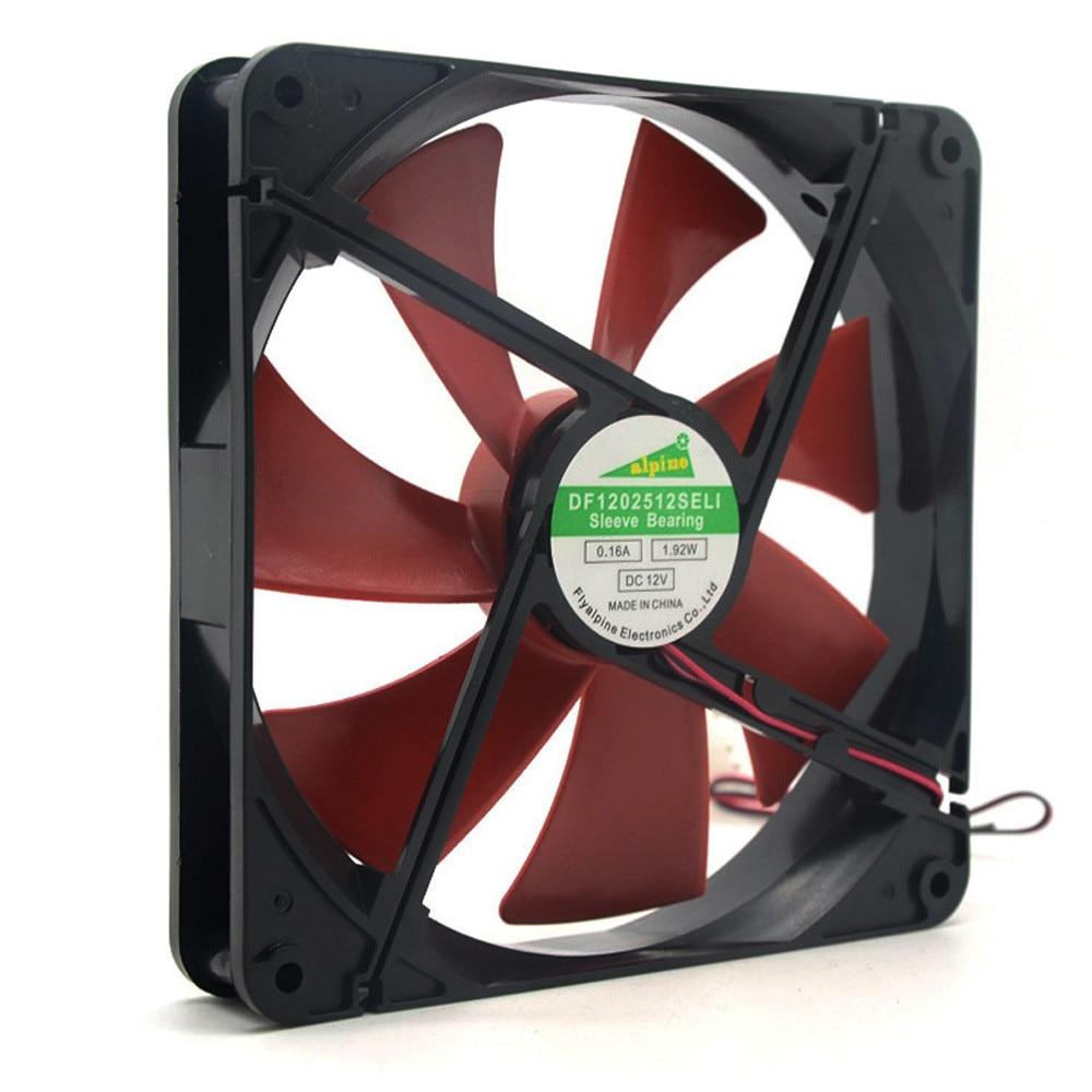 Best Silent Quiet 140mm Pc Case Cooling Fans 14cm DC 12V 4D Plug Computer Cooler 6M7 Drop Shipping