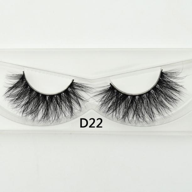 Visofree False Eye Lashes  Natural 100% Handmade Thick False Eyelashes Extension Sexy Soft Eye Lashes  Mink False Eyelashes D22(China)