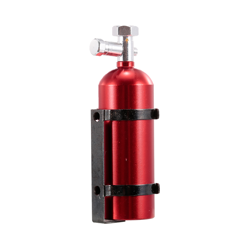 New Emulational Metal Fire Extinguisher for 1/10 RC Car Traxxas HSP Redcat Rc4wd Tamiya Axial SCX10 D90 HPI RC Rock Crawler