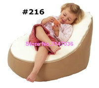 Freeship Canvas IVORY Baby Infant Bean Bag Snuggle Bed Portable Seat NO Filling