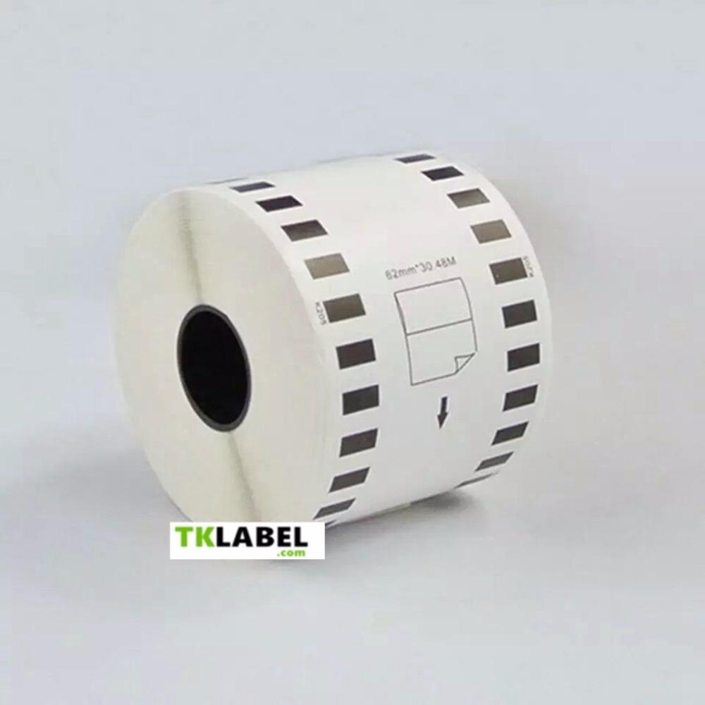 Prix pour 5 x Rolls Brother Compatible adresse Étiquettes rouleaux dk22205 dk-22205 dk 22205