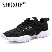 Shuxue 2018 New Summer Woman Mixed Color Soft Leisure Fashion Lace Up Flat Sandals Women Breathable