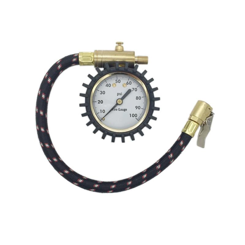 High Precision Dial Tire Air Pressure Gauge Meter Analog Diagnosis Tools Motorcycles Car Bike Truck Measuring Instrument