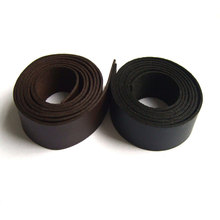 1 Meter 20mm Flat Black/Brown Faux Leather Strips & Suede Cord Lychee Pattern 2mm Thickness For Jewelry Making Findings