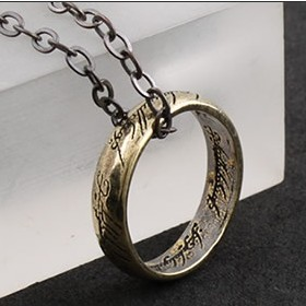 Hot Selling Circle Pendant Women Men Necklace Fashion Gothic Vintage Jewelry 10pcs/lot Wholesale