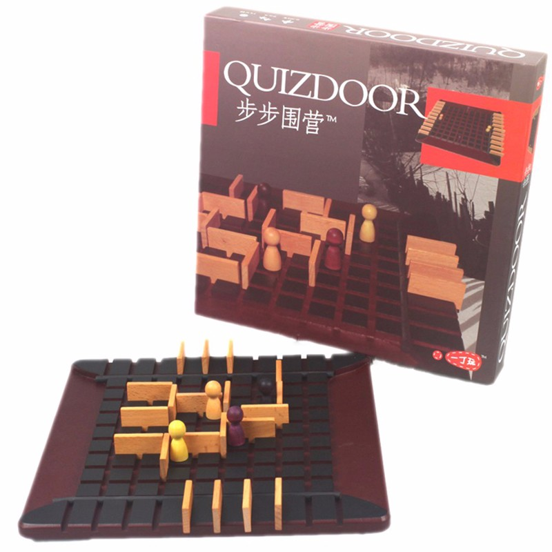Free Shipping Board Table Game Quoridor Best Gift For Children Family Party Game The most popular wood chess educational games
